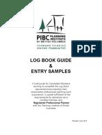 PIBC LogBook Guide&Samples Jun2012