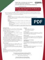 1. Convocatoria PNFP 2009