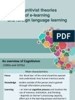 1. Overview of Cognitivism