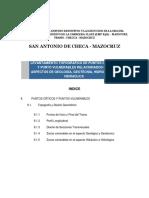 Informe Levantamiento Topográfico de Puntos Críticos