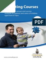 Parenting Support Leaflet