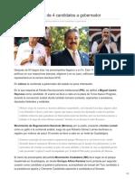 13/Febrero/2018 Jalisco define a 3 de 4 candidatos a gobernador