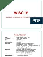 WISC IV, Descripción