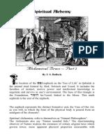 Alchemical Brass - Part 2 - J.S Bullock