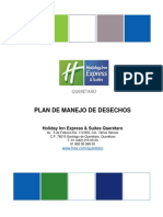Plan de Manejo de Desechos Holiday Inn Express & Suites