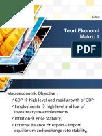 Teori Ekonomi Makro 1