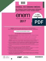 PROVA ENEM 2017 - 2 APLICAÇÃO - PPL
