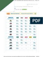 Car Rental 9-12 to 9-16