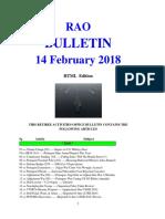 Bulletin 180214 (HTML Edition)