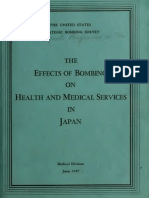 USSBS Reports No.12, Effects of Bombing on Health and Medical Services in Japan