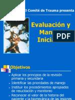 Evaluación y Manejo Inicial CORREGIDO