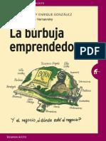 La Burbuja Emprendedora Javier García Enrique González