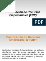 8.- Planificacion de Recursos Empresariales ERP