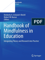 Handbook of Mindfull in Education