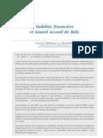 2003 Stabilite Financiere Et Nouvel Accord de Bale