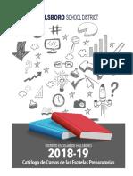 2018-19 hs course catalog web spanish