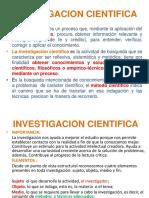 Investigación Cientifica, Titulo de La Investigacion
