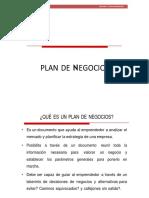 Plan de Negocios 1ra Parte