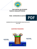 Taller de Auditoria Financiera 2018