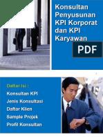 Konsultan Manajemen Kinerja - Penyusunan KPI
