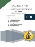 Reforma Educativa Un Atraso o Un Progreso Para El País Lala