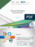 Factura Electrónica, Innovaciones 2017
