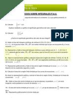 m2cs - 5 Integrales - Ejercicios Integrales Pau