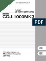 Manual de Usuario Cdj 1000mk3 Eng Spa Chi