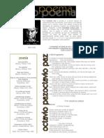 Octavio Paz . Poesias