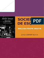 Sociedade de Esquina - William Foote Whyte
