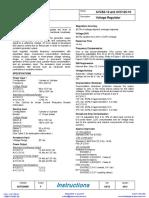 Avc63 12 Basler Electric Automatic Voltage Regulator Avr Data Sheet