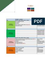 Cronograma CEDES Noviembre 2017