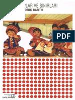Fredrik Barth - Etnik Gruplar Ve Sınırları