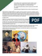 Biografía de Cristóbal Colón Nació en Génova