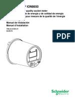 Manual Instalación ION8650_socket