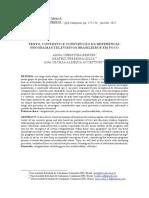 Texto, Contexto e Construção Da Referência_Programas Televisivos Brasileiros Em Foco