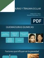 QUEMADURAS QUIMICAS, TERMICAS..