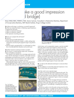 How to Take a Good Impression (Crown and Bridge)