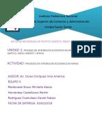 Procesos de Integración Económica en PAMOA Equipo 5