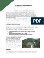 Central Hidroeléctrica Del Mantaro