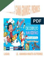 AFICHE CONCURSO DE DIBUJO