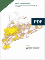 Mapa Evolucio Espais Agraris Tarragona