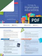 Infografia Entrega de Materiales Educativos (Programas Men) 2017 - 2018