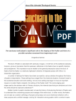 The Sanctuary in the Psalms __ Perspective Digest