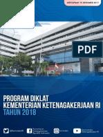 Program Diklat Kementerian Ketenagakerjaan