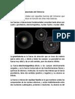 Las Fuerzas Fundamentales Del Universo