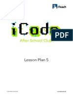Icode Lesson Plan 5 v2