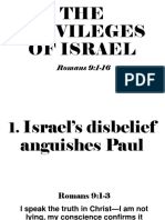 The Privileges of Israel