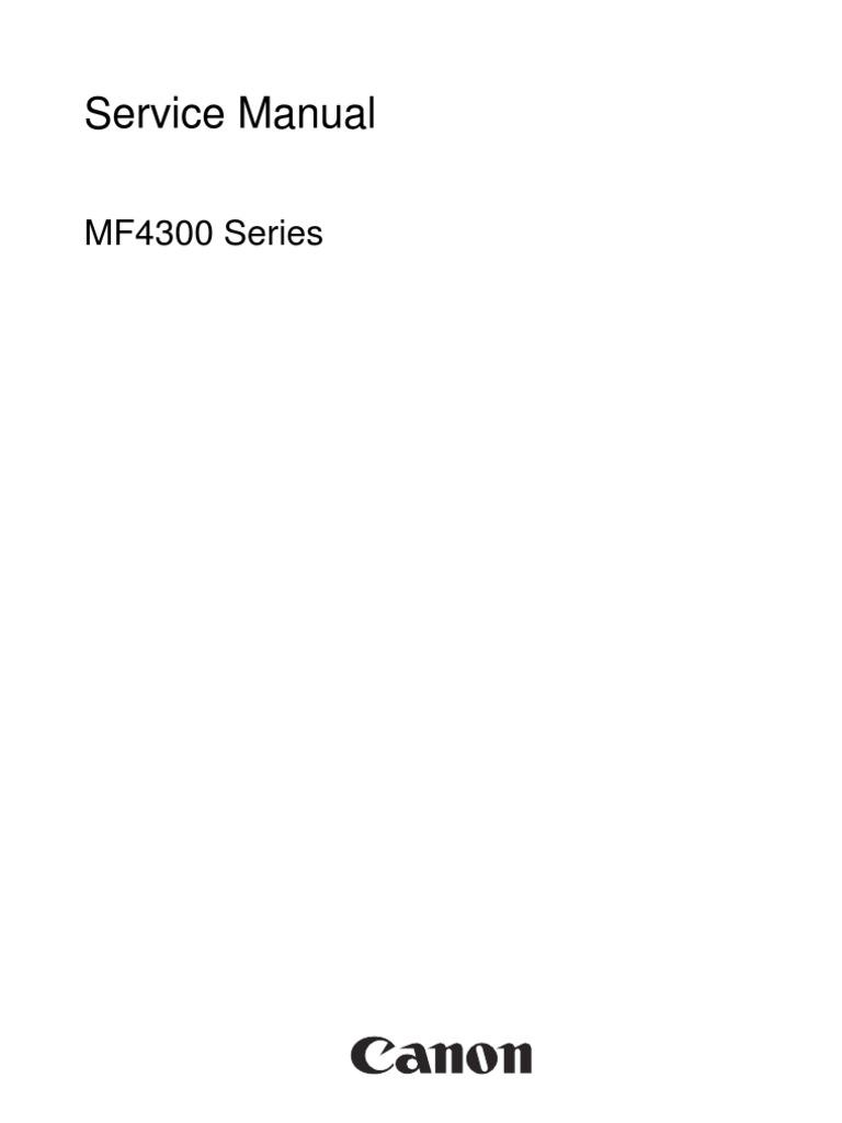 canon d450d mf4300 series service manual signal electrical rh scribd com