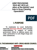 Dilg Mc 2015-63 Revitalization of Badac